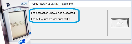 После этого анализатор можно снимать с Downloader.